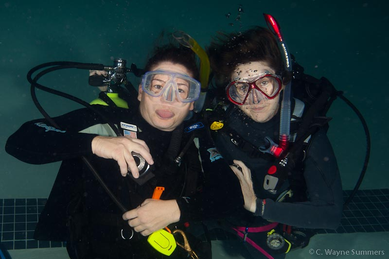 Cathy and Cheryl, owners of Aquatic Adventures